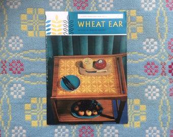 1970s Vintage Crochet Pattern - Wheat Ear - Mercer Crochet Doilies, Gloves, Tray Cloth, Tablecloth - A Coats Publication