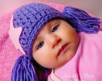 Bubble Guppies Crochet Hat/Wig Oona
