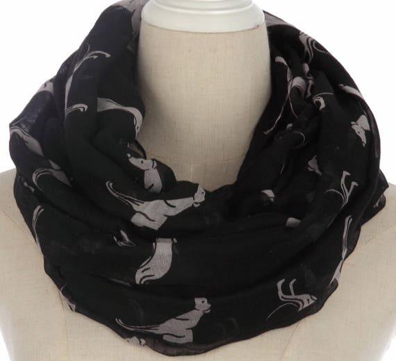 Ladies greyhound whippet large scarfs shawl wrap