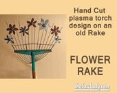 Metal Art Rake with Garde...