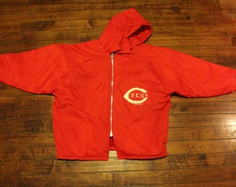 Cincinnati Reds champion fall jacket MLB baseball Large