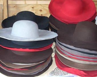 Felt Hat Blanks