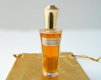 Vintage MADAME ROCHAS by Rochas First Gen Perfume Eau de Parfum Splash 2/3 oz (20 ml) Apparently Never Used Near Perfect Gift Bag