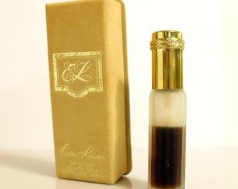 Vintage 1970s Youth Dew by Estee Lauder 3/8 oz Pure Parfum Mini Purse Spray and Box PERFUME