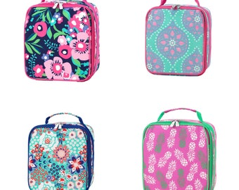 Personalized Lunchboxes - Monogrammed Lunchboxes - Monogrammed Lunch Bag- Personalized Bag