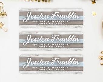 Address Labels / Beach Personalized Return Address Labels / Custom Address Labels / Address Sticker / Address Label Sticker / The Jessica