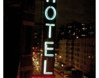 5 Postcards 'Hotel Chelsea', Set of 5,  home decor, streetart, art, photography, new york