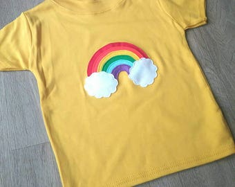 Short sleeved applique tee - younger kids
