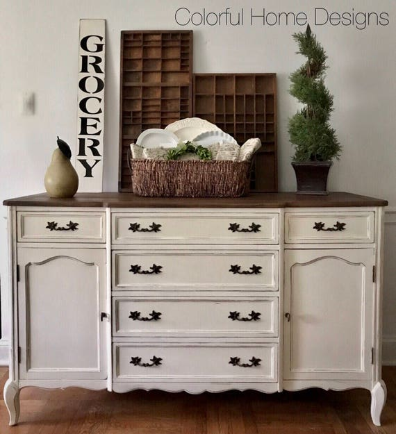 SOLD Farmhouse Sideboard Farmhouse Buffet Rustic Sideboard
