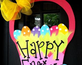 Easter Wreath | Easter Door Hanger | Easter Decorations | Spring Wreath