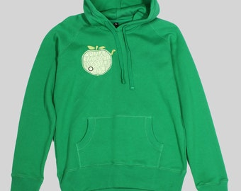 "Organic hoody Women green ""apple""-XL"