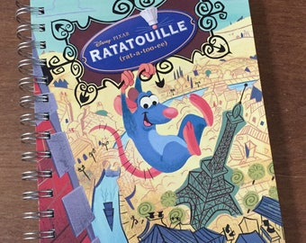 Ratatouille Little Golden Book Recycled Journal
