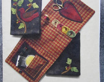 Cozy Catch All Sewing/Needlework Supply Case pattern