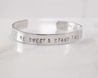 Be Sweet & Stand Tall Bracelet