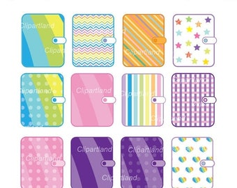 ON SALE INSTANT Download. Cp_3_Planner. Planner clipart. Personal and commercial use.