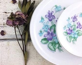 SUMMER SALE Beautiful Vintage Melmac Floral Dishes