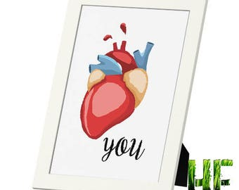 Love Framed Photo Print
