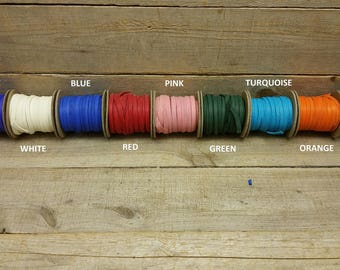 "Deerskin Deer Leather Lace Spool Roll 1/4"" x 25 FT Lacing Cord String Craft F-3"