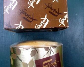 Faberge Woodhue Bath Powder Unopened 5 Oz Vintage Box