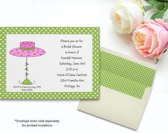Pink Hat Invitation | Bridal Shower | Printable Editable Digital PDF File | Instant Download | WSI346DIY
