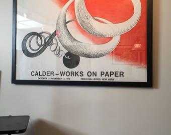 Vintage Calder Poster