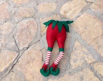 elf christmas tree picks