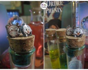 Earrings Olaf & Sven