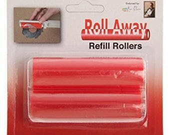 Ken Oliver Roll Away Tacky Roller  Die Cleaner - Refill Rollers