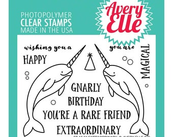 Avery Elle STamp Set  Extraordinary
