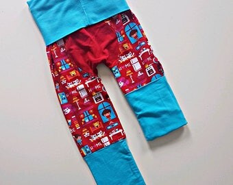 Happy home bootie pants// Grow with me pants