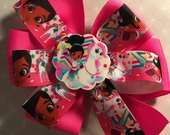 Nella the princess knight Hair Bow- Sarah Style*