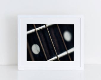 Guitar Strings - Music - Fine Art Photography Print