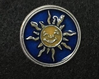 Sunshine Pewter Pin