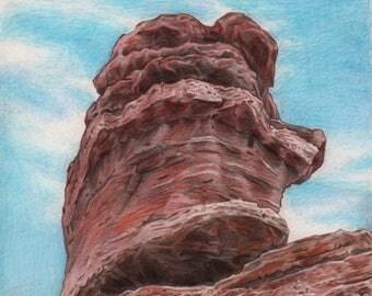 Balanced Rock, Colorado Springs, Co