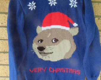 DOGE - very christmas UGLY Christmas Sweater