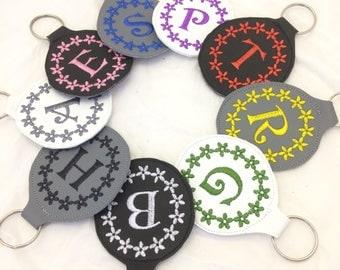 Personalized Keychain, Personalised Keyring, Key Fob, Initial Keyring, Initial Gift, Personalised Gift, Key Holder, Monogram Keychain