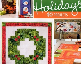 Quilter's World Magazine Quilting for the Holidays 40 Projects Nov. 2014