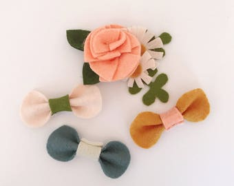 Garden Party harness/collar accessory collection