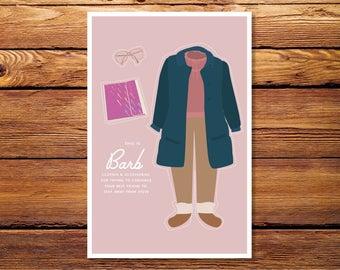 "Stranger Things - Barb 4""x6"" Giclee Print"