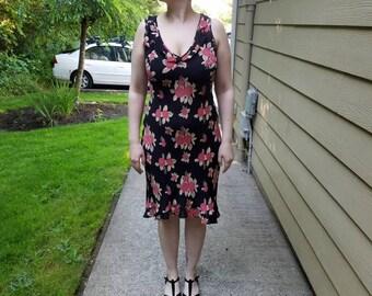 Rayon Rose Dress