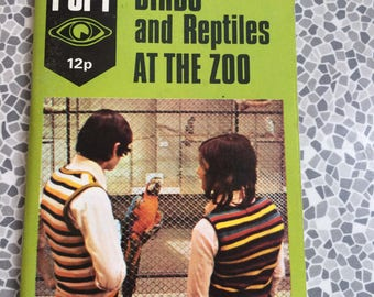 I-Spy book Birds and Reptiles at the Zoo 1974