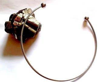 Rigid torque metal tip screw for beads, 3 mm