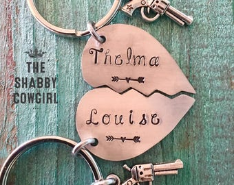 Thelma & Louise - keychains