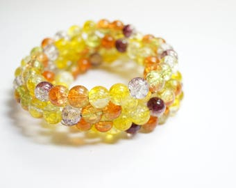 Braclet Glassbeads Unique