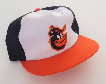 Vintage Baltimore Orioles Ted Fletcher Snapback Hat MLB VTG