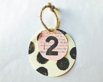 Wedding // Table number // display // pink and black// polk-a-dot (customizable)