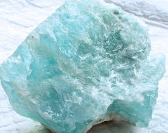 Rough Blue Aquamarine