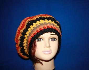 very warm fall colors 5 wedding crochet beret lodge