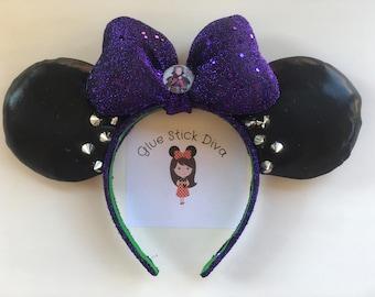 Mal Inspired Mouse Ears