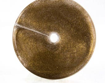 18mm flat disc in goldbase 3Pcs